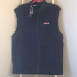 Vineyard Vines Harbor Fleece Vest NWT